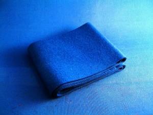20B1 Facing Cloth Blue
