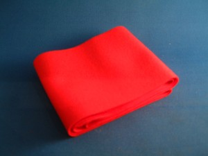 20D Facing Cloth Red