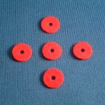 35BS Cnetre Washers Red