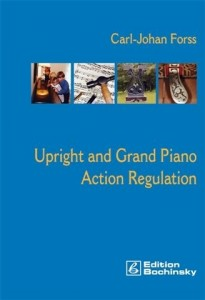 448 Upright  Grand Piano Action Regulation